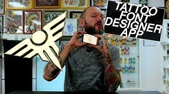 Tattoo Font Designer App - review