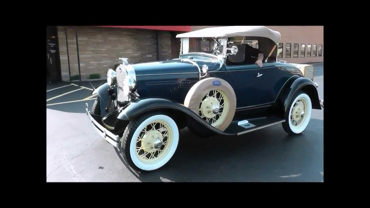model a ford roadster seats