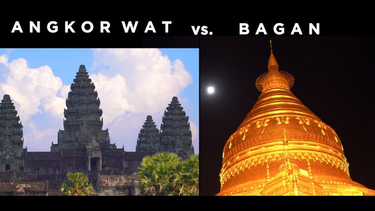 Angkor Wat vs. Bagan - Solo Travel Guide (4K)