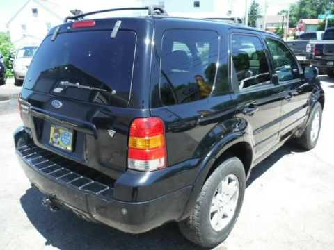 2005 Ford Escape 3 0 4wd Limited Fully Loaded Black On Warranty Akron Ohio