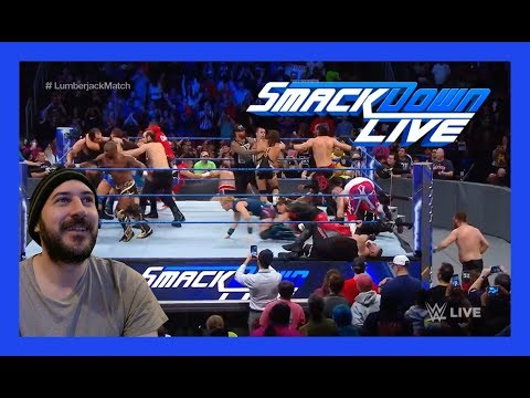 REACTION: Lumberjack Match!!! (WWE Smackdown Live 11/21/17)