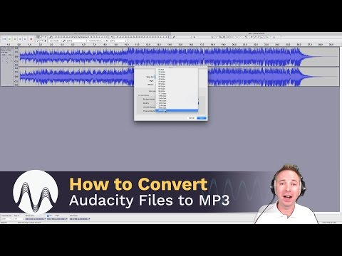 How to Convert Audacity Files to MP3