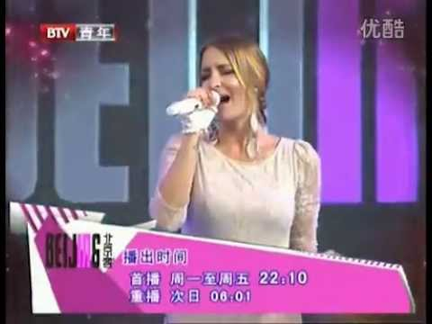 "Sarah Connor - ""Living To Love You"" LIVE @ TV Beijing 2012"