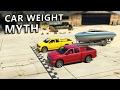 GTA V - Car weight Myth [Part 1]