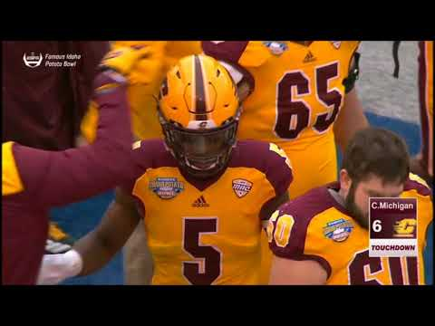 2017 Famous Idaho Potato Bowl - Wyoming vs Central Michigan