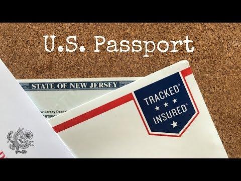 Американский паспорт для ребенка