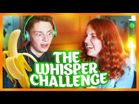 THE WHISPER CHALLENGE  Я БАНАН СЕКСИ НАСТЯ D
