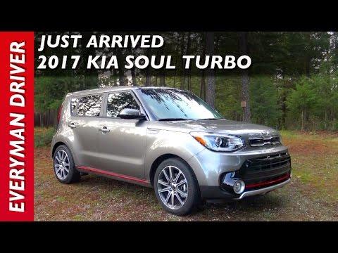 just arrived 2017 kia soul turbo on everyman driver youtube. Black Bedroom Furniture Sets. Home Design Ideas