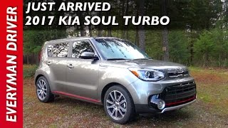 Just Arrived: 2017 Kia Soul Turbo on Everyman Driver