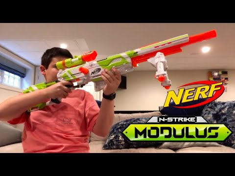 Nerf Modulus LongStrike Unboxing And Review