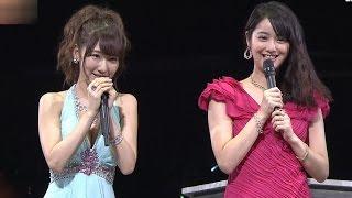 AKB48 柏木由紀 佐々木希に公開処刑される 黒服物語 応援登場 20140917 SKE48 NMB48 HKT48