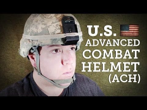 Helmets Of The World: U.S Advanced Combat Helmet Or ACH