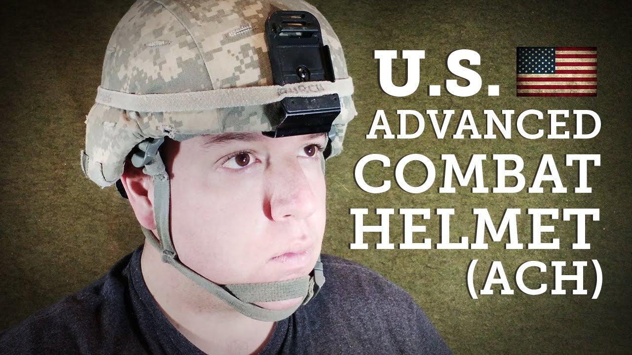 Helmets of the World: U S Advanced Combat Helmet or ACH
