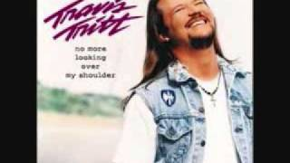 Watch Travis Tritt No More Looking Over My Shoulder video