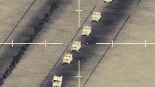 AC-130 Gunship  N Action Convoy Destroyed  N Fallujah - ARMA 3 - MilSim