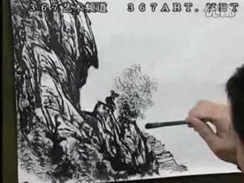 Zeng Gang 曾刚山水画 DVD Course of Chinese Landscape Painting (Disk 1-6)
