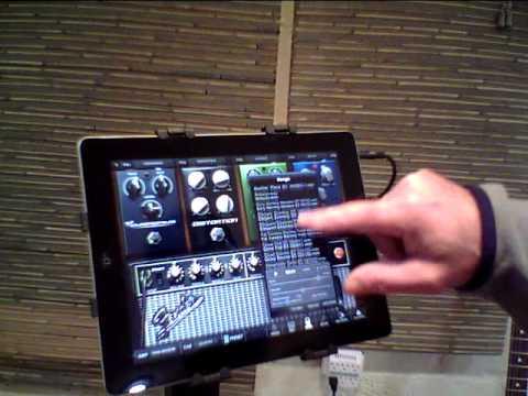 Ipad, Amplitube and Tracks