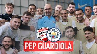 Training At Manchester City [vlog] | Kitchener Fc