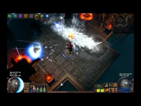 Path of Exile - Death and Taxes map full clear