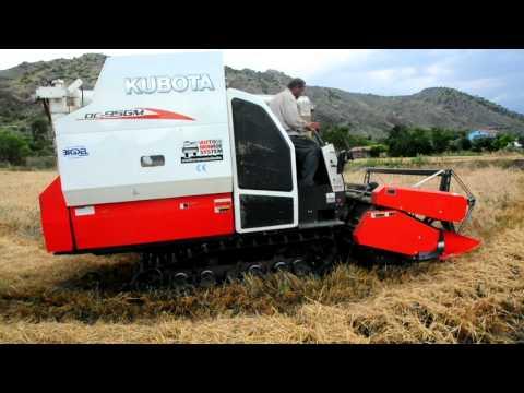 bigdel - kubota dc-95gm harvester www.bigdel.com