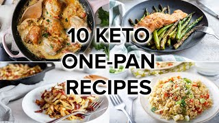 10 Keto OnePan Recipes with Easy Cleanup