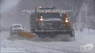 2-7-2018 Saratoga Springs, New York Heavy Snow