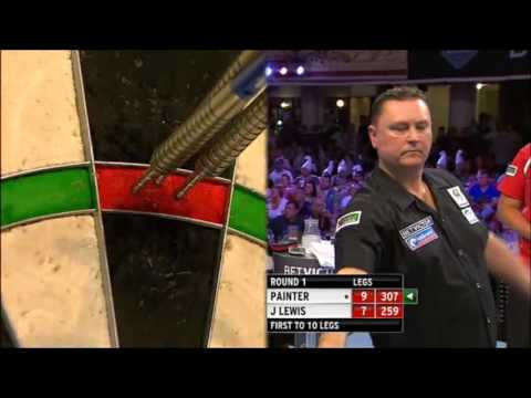 Betvictor PDC World Matchplay 2013 - First Round - J Lewis vs Painter Last leg