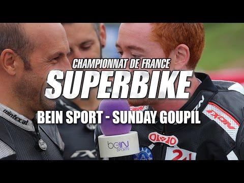 FSBK : BeIN Sport - Sunday Goupil  A la découverte du Side Car