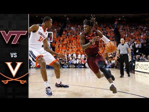 Virginia Tech vs. Virginia Basketball Highlights (2017-18)