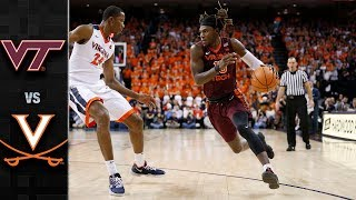 Virginia Tech vs. Virginia Basketball Highlights (2017-18)