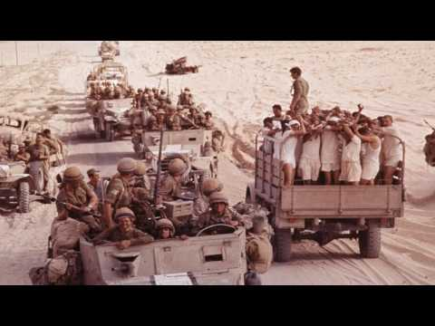Egyptian POWs - Six Day War, June 5th, 1967
