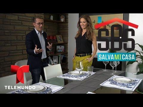 SOS Salva Mi Casa 2 | Cómo arreglar una mesa para una cena | Telemundo