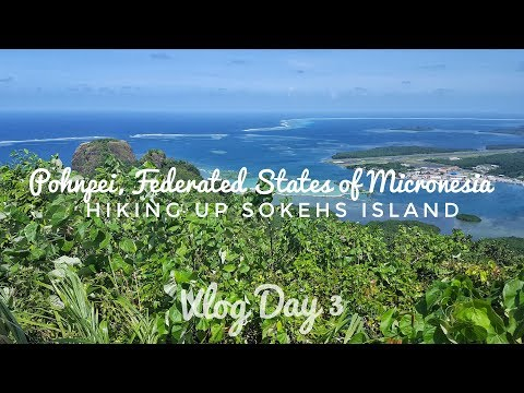 Hiking up Sokehs Island for WW2 relics and VIEWS in Pohnpei, Micronesia | Vlog Day 3