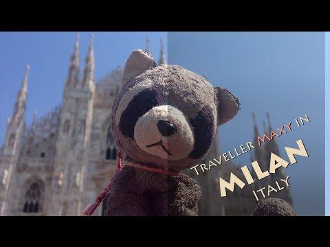 Traveller Maxy in Milan, Italy