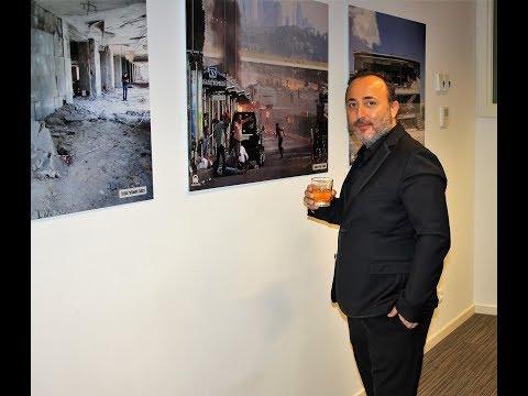 Belçika'nın Brüksel kentinde düzenlenen Anadolu Ajansı 15 Temmuz fotoğraf sergisine