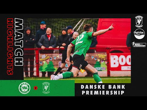 Larne Glentoran Goals And Highlights