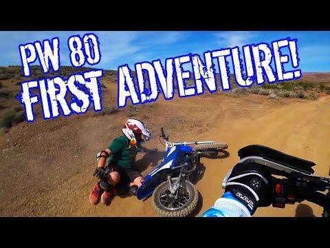 Yamaha PW80 - My Son's First Dirt Bike Adventure! #everide