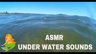 🎧 ASMR - Relaxing Under Water Sounds- At The Beach- Waves and Water Sounds