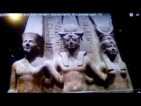 Egyptians : Ancient Ancestors of North & East Africa and Europeans 2018