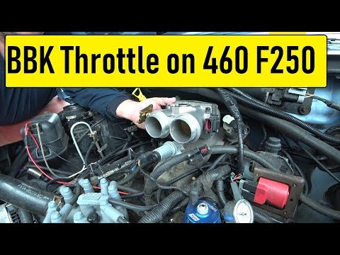 BBK 3502 Twin 61MM install F250 460