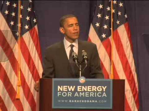 Barack Obama on Energy in Lansing, Michigan