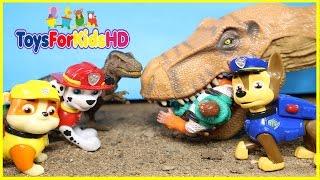 La Patrulla Canina Salva a Los Dinosaurios para niños - Patrulla de ...