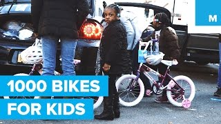 1,000 Bikes for Kids in NYC from Bike New York  | Mashable