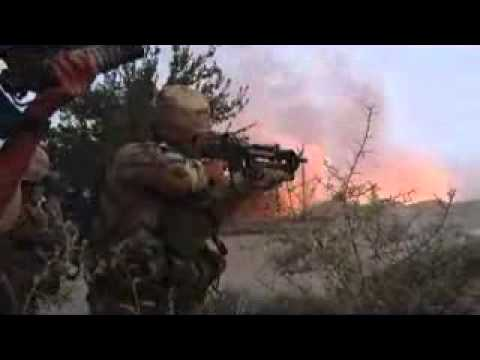 Canadian forces - Dawn raid on Taliban