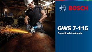 Esmerilhadeira Angular 4 ½ GWS 7-115