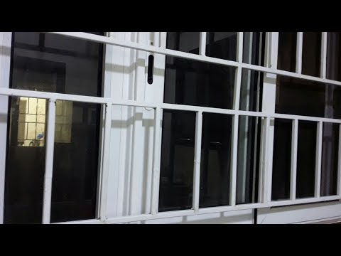 How to clean greasy kitchen window grill , How to Clean Door Grills, Kitchen  oil window cleaning