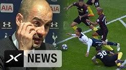 "Pep Guardiola: Spielplan? ""Was soll ich machen?"" | Tottenham Hotspur - Manchester City 2:0"