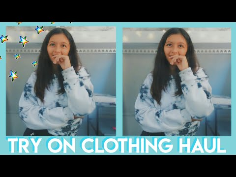 another radical try on haul :)) thumbnail