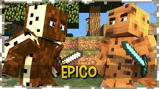 BOLACHA vs BISCOITO - SKY WARS ÉPICO ( ft Authentic ) | Spok