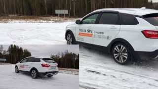 БЭКСТЭЙДЖ со съемок Lada Vesta sw cross второй день!